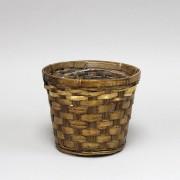 [6026BNH] Cylinder Hand Woven Basket